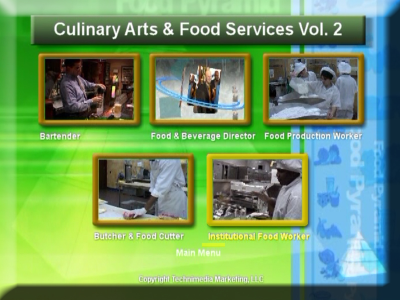culinary arts food services dvd volume 2